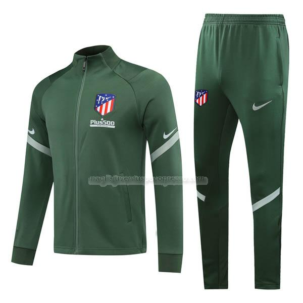 giacca atletico madrid verde 2020-21