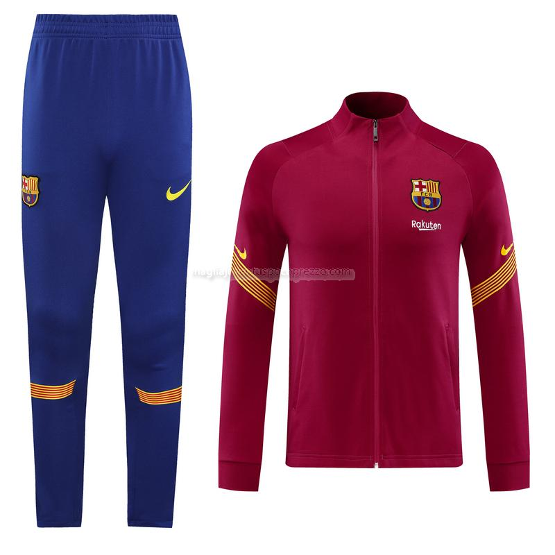 giacca barcelona rosso 2020-21