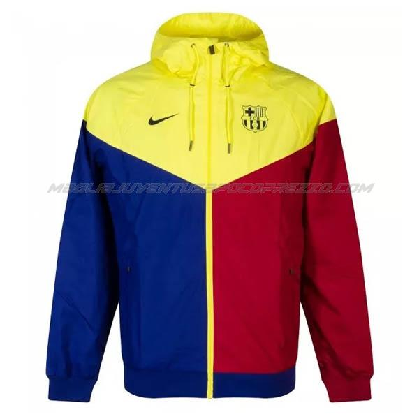 giacca storm barcelona rosso giallo blu 2020-21